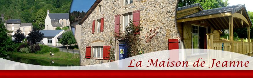 Site map la maison de jeanne chambres d 39 h tes table d for Chambre d htes tarn